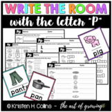 Write the Room - Letter P