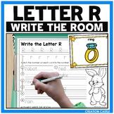 Alphabet Write the Room - Letter R