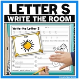 Alphabet Write the Room - Letter S