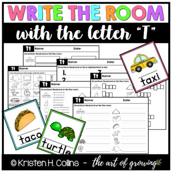 Write the Room - Letter T