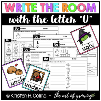 Write the Room - Letter U