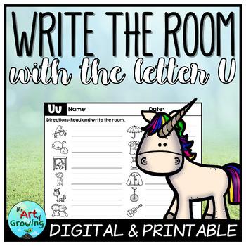 Write the Room - Letter U