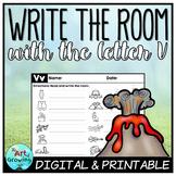 Write the Room - Letter V