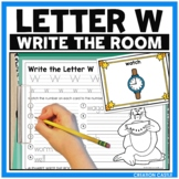 Alphabet Write the Room - Letter W