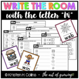 Write the Room - Letter W