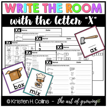 Write the Room - Letter X
