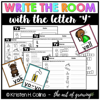 Write the Room - Letter Y