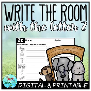 Write the Room - Letter Z