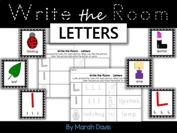 Alphabet Write the Room - Letters A-Z Bundle - Low Prep