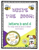 Write the Room - Letters B and D