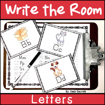 Write the Room Letters and Digraphs