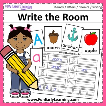Write the Room Letters and Phonics