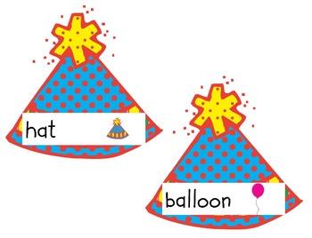 Write the Room Literacy Center - Birthday