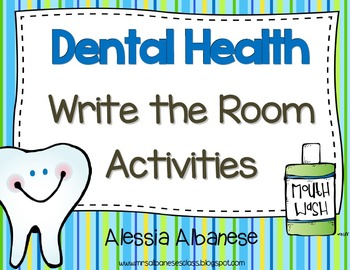 Write the Room Literacy Center - Dental Health