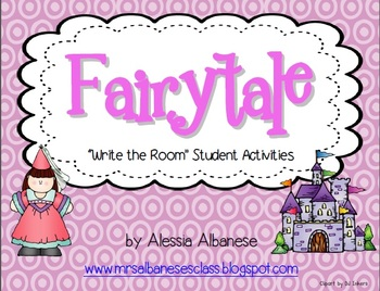 Write the Room Literacy Center - Fairytale Theme