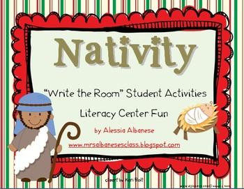 Write the Room Literacy Center - Nativity