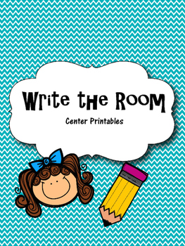 Write the Room Literacy Center Printable
