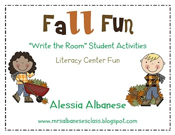 Write the Room Literacy Center - Fall