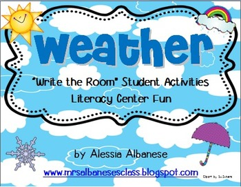 Write the Room Literacy Center - Weather
