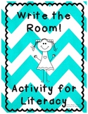 Write the Room! Literacy Center Work