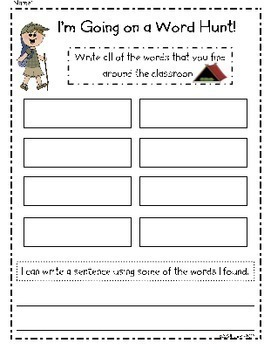 Write the Room Literacy Centers - The Complete Set {BUNDLE}