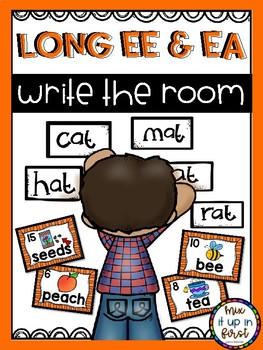 Write the Room- Long E (ee and ea)