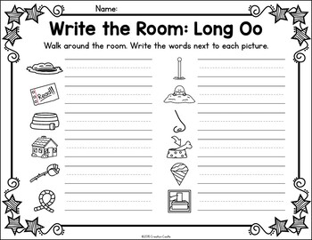 Write the Room - Long O Words