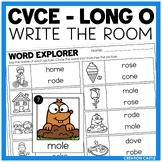 Write the Room - Long O Words