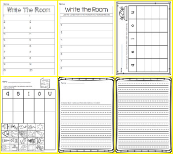 Write the Room -  Missing Long Vowel CVCe
