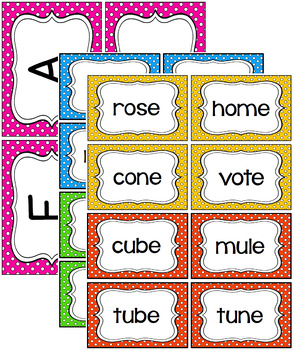 Write the Room -  Missing Long Vowel CVCe