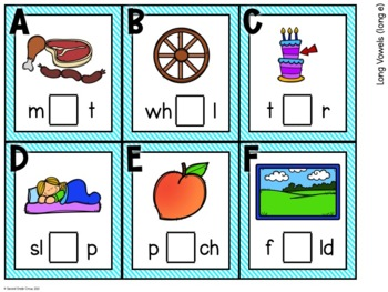 Write the Room (Long Vowels)