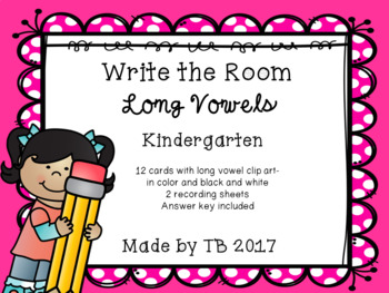 Write the Room Long Vowels