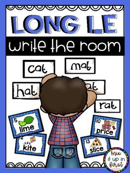 Write the Room- Long Vowels Bundle