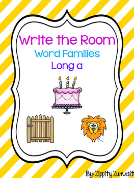 Write the Room - Long a Word Family