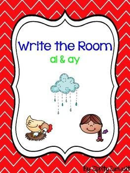 Write the Room - Diphthong ai & ay