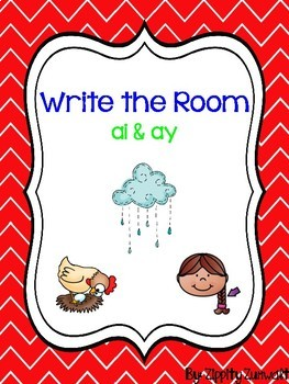 Write the Room - Long a: ai, ay