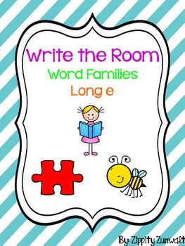 Write the Room - Long e Word Family
