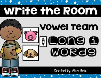 Write the Room (Long i Vowel Team Words)