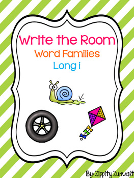 Write the Room - Long i Word Family