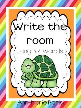 Write the Room, Long 'o' Words