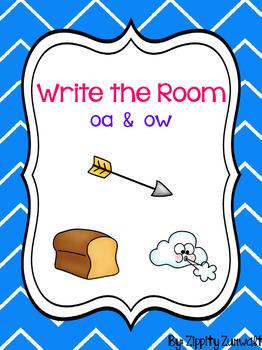 Write the Room - Long o -- oa, ow