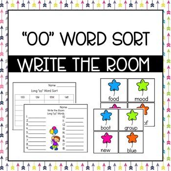 "Write the Room: Long ""oo"" Phonics Pattern"