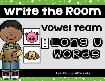 Write the Room (Long u Vowel Team Words)