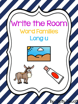 Write the Room - Long u Word Family