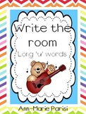 Write the Room, Long 'u' Words