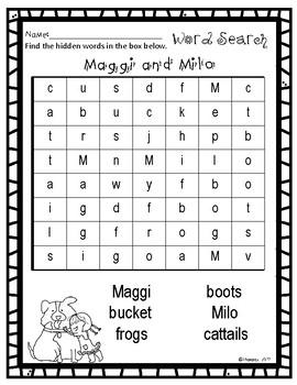Write the Room:  Maggi and Milo