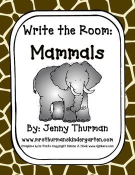Write the Room: Mammals