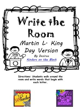 Write the Room: Martin L. King Day Version