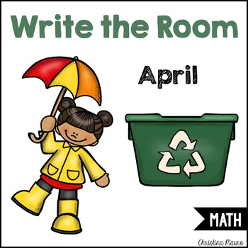 Write the Room - Math - April