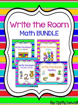 Write the Room - Math Bundle